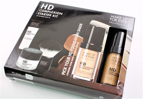 Makeup Forever Hd Primer prep cover and finish 3 step flawless skin with the new