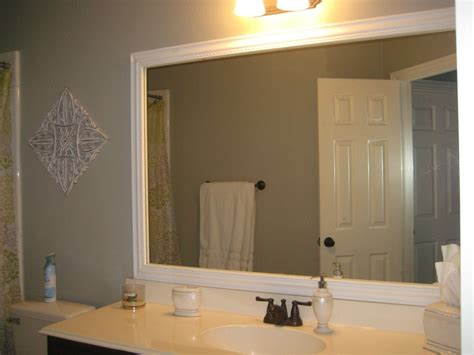 framing bathroom mirrors with crown molding 1000 images about renovate bathroom ideas on pinterest