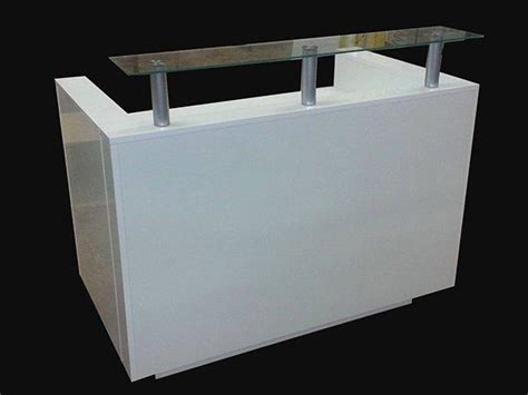 Gloss White Reception Desk Ref 0415 Quality Reception Desk In White High Gloss