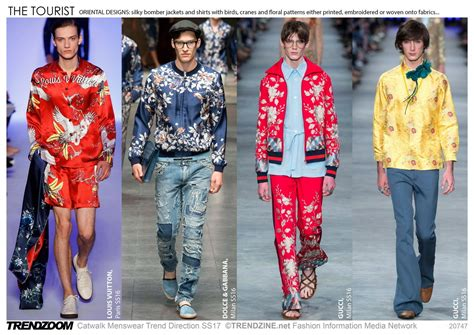 trends in 2017 trendzoom catwalk menswear trend direction ss 2017