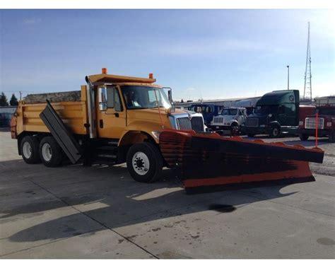 international  plow spreader truck  sale