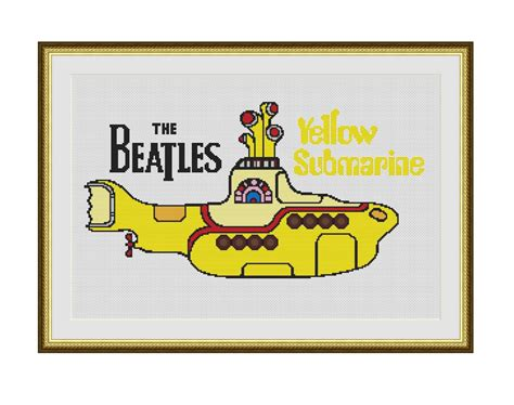 strumming pattern for yellow submarine the beatles yellow submarine counted cross stitch pdf
