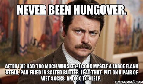 Hangover Memes - ron hangover
