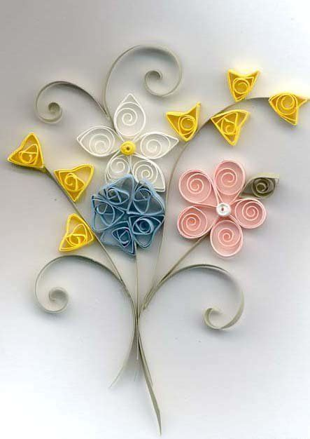 quilling pinterest tutorial flowers quilled flowers and other quilling tutorials quilling