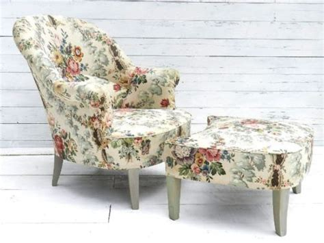 Country Cottage Armchairs by Glorious Duchesse Brisee Fauteuil Armchair Foot
