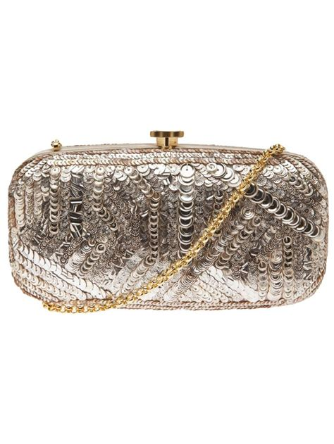 Oscar De La Renta Wicker Clutch by 1000 Images About Oscar De La Renta Clutch Shoes On