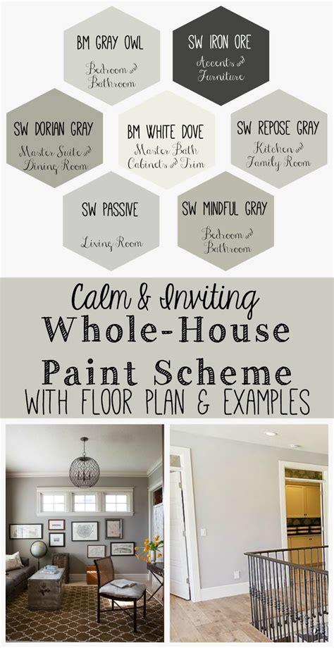 whole house paint color schemes decor miscellaneous 1000 images about diy home decor ideas on pinterest