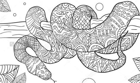 snake mandala coloring pages 50 free printable snake coloring pages collection