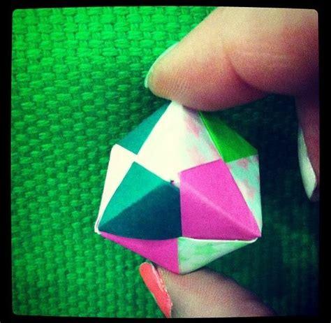 Origami Sonobe Cube - how to make origami sonobe cube recipe origami cubes