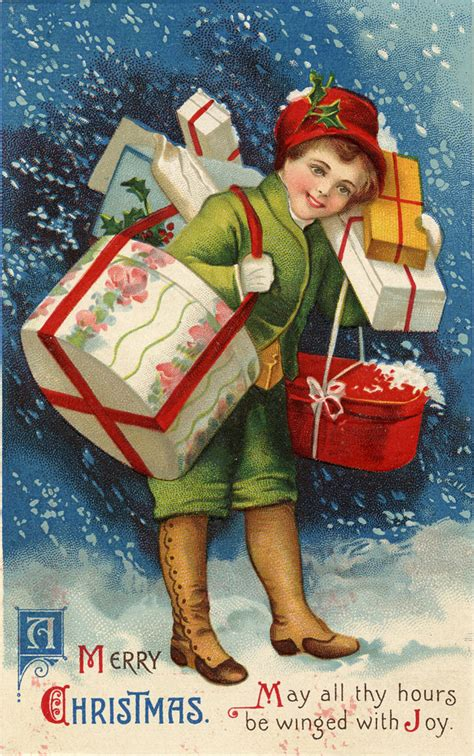 christmas shopping images  graphics fairy