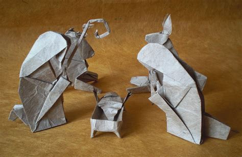 origami nativity 24 themed origami models to fill you with