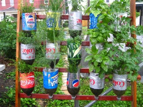 Recycling In The Garden Ideas Recycled Plastic Bottles Gardening Ideas Recycled Things
