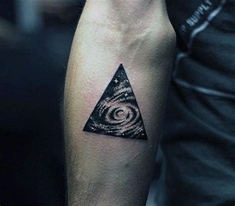 star tattoos for men on arm 90 triangle designs for manly ink ideas