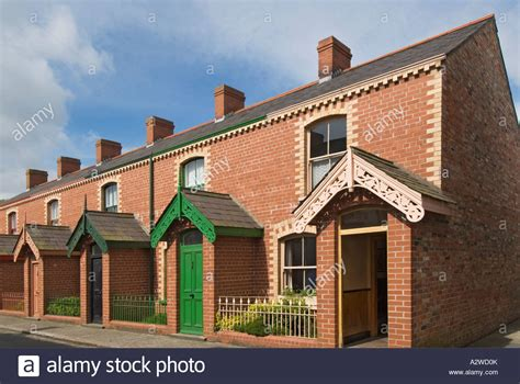 houses to buy in northern ireland northern ireland cultra ulster folk and transport museum ballycultra stock photo