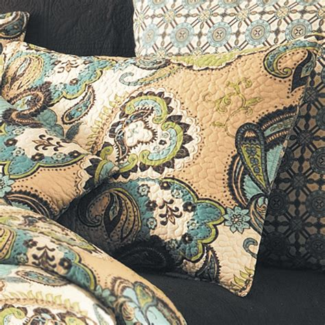 paisley quilt bedding kasbah paisley quilt bedding