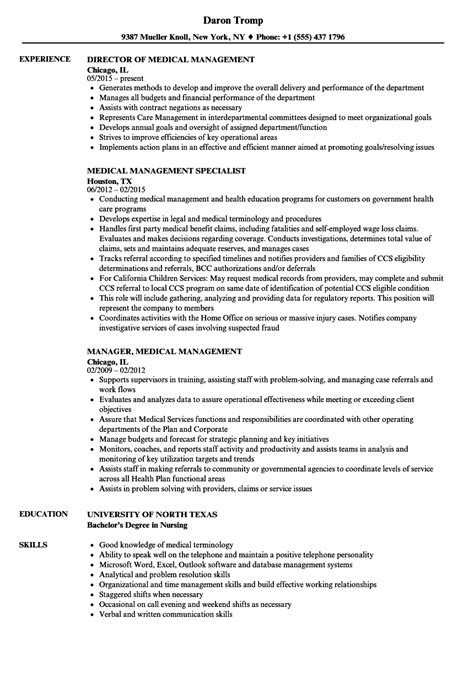 Healthcare Executive Resume Samples Sample Format