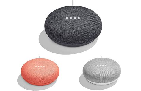 google home here is the google home mini the smaller 49 google home
