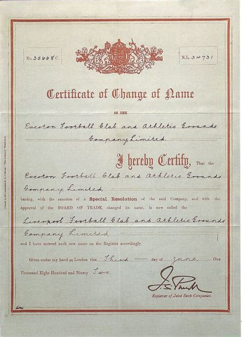 Liverpool Birth Records Free 120 Years Of Lfc Not Quite Yet Liverpool Fc
