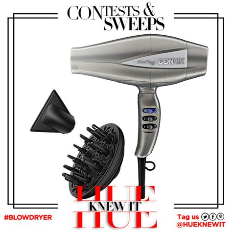 Conair Hair Dryer Infiniti Pro 3q giveaway infiniti pro by conair 3q hair dryer hueknewit