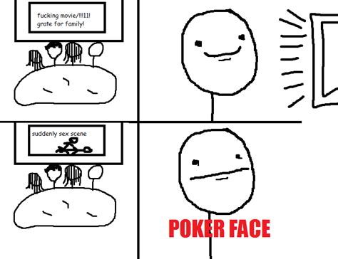 Poker Face Meme - poker face comics hilarious images daily