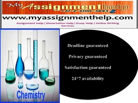 Help With Chemistry Assignment by Chemistry Assignment Help Buy Original Essay