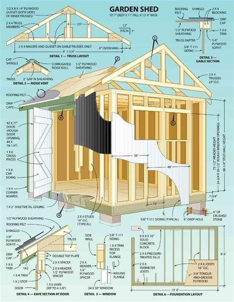storage building plans 16x40 pdf woodworking colonial backyard garden shed how to building wooden