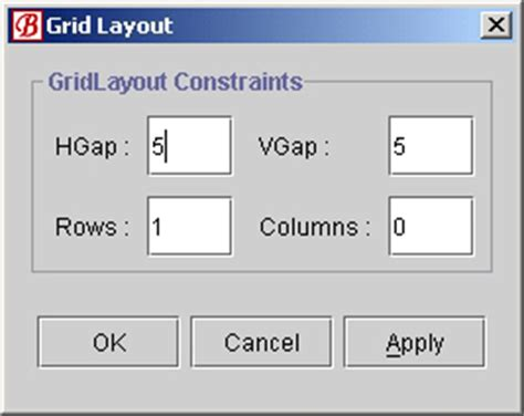 gridlayout right align using grid layout