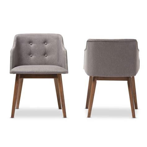grey fabric armchair adore grey fabric mid century armchair modern furniture brickell collection