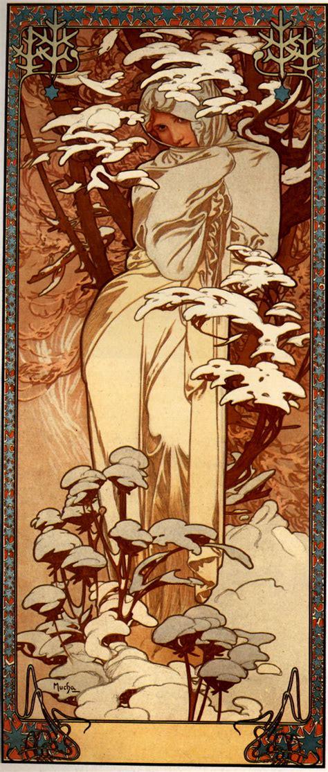 winter 1897 alphonse mucha wikiart org