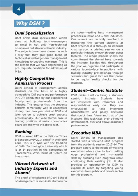 Weekend Mba Programs In Delhi by Placement Brochure