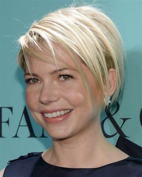 i have thin hair and need a short haircut for the police academy michelle williams has fantastic hair and skin hair