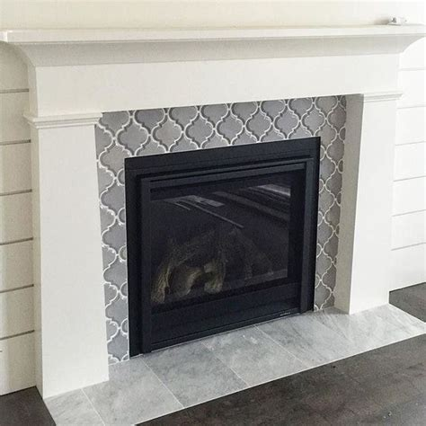 covering brick fireplace with ceramic tile best 25 fireplace facade ideas on