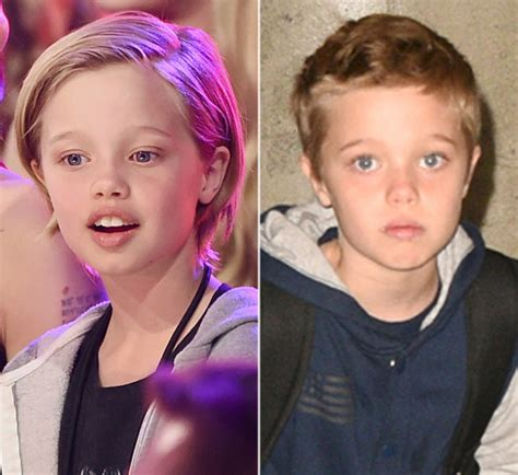hair makeover videos shiloh jolie pitt s new haircut see her short hair