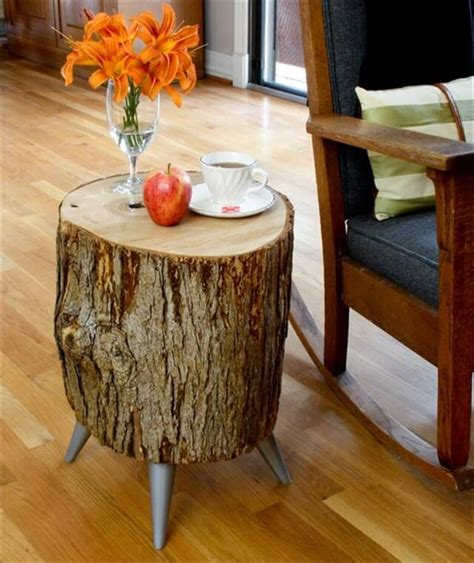 Home Interiors Candle Holders 13 diy wood log projects diy to make