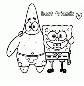 best friend coloring pages to print image