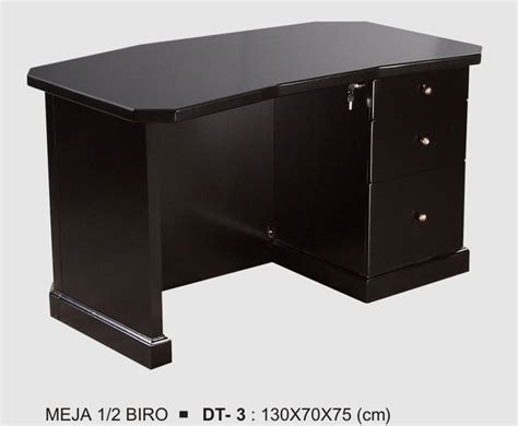 Meja Olympic 1 2 Biro donati meja 1 2 biro melamic series type dt 3