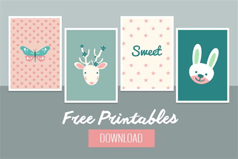 Free Printable Decorations by Sweet Baby Wall Decor Free Printable Belivindesign