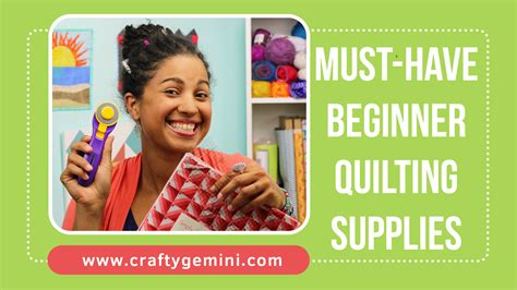Beginning Quilting Supplies by Supplies