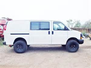 lifted lift kit for chevy express cing