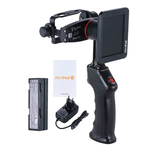 Gopro Gimbal deal wenpod gp1 stabilizer with monitor for 90 with coupon