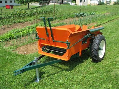 compact manure spreaders   bu hobby farm spreaders