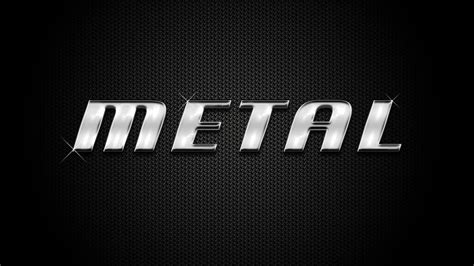 metal logo design photoshop photoshop tutorial how to make shiny metal text effect