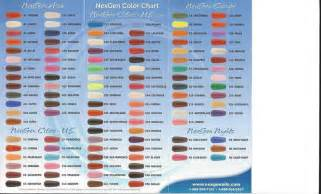 nexgen nails color chart pin by 4 seasons nails on nexgen nail dip gel