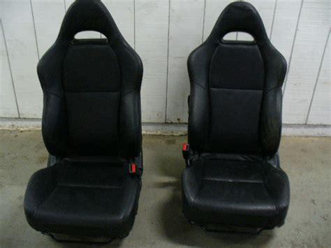 rsx type s seats 2002 acura rsx type s oem black leather seats lipperini