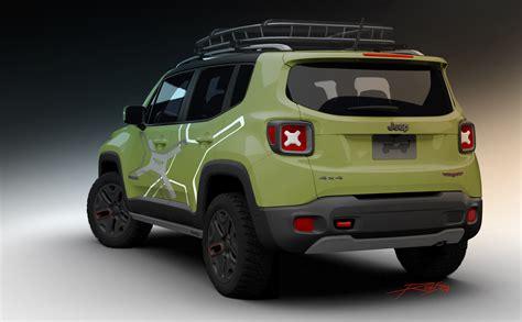 jeep vehicles 2015 2015 jeep renegade receives mopar goodies for 2015 detroit
