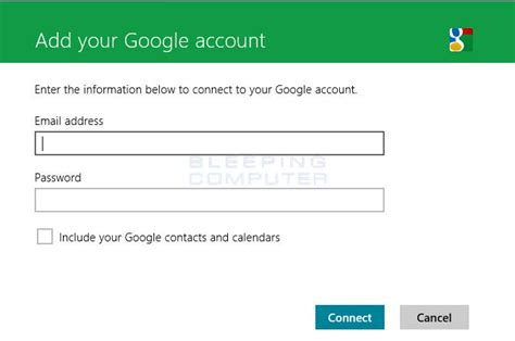 gmail login 8 ways to log into gmail tech simplified how to add gmail to windows 8 mail