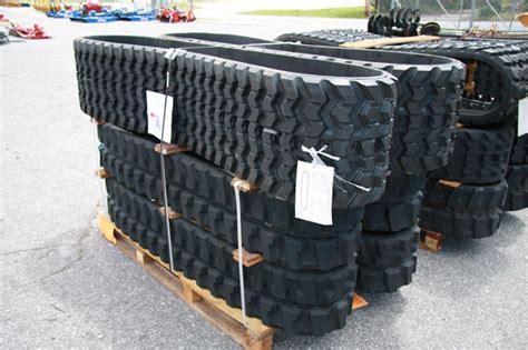 winter rubber sts solideal skid steer track loader excavator rubber