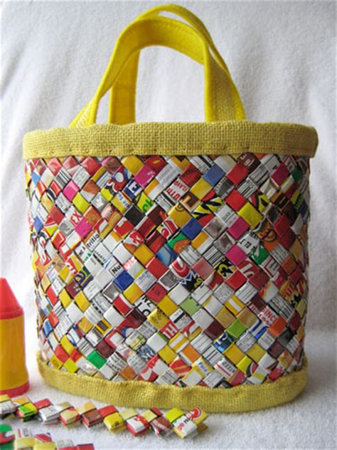 Di Giacinto Recycled Bags by Diy Recycled Wrapper Bag Serious Eats