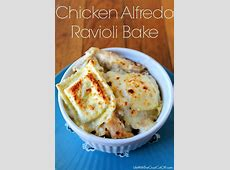 Chicken Alfredo Ravioli Bake | Life With The Crust Cut Off How To Cut A Pineapple Boat