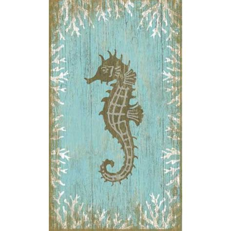 Seahorse Wall Decor by Seahorse Left Wall